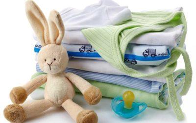 Lavaggio e sanificazione ad ozono per i capi per l'infanzia